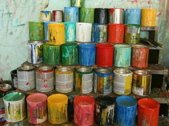 Утилизация ЛКМ и краски