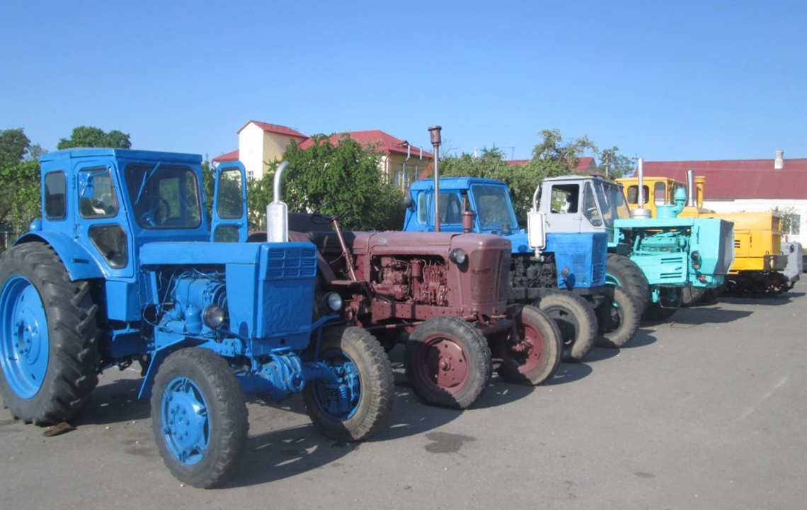 Утилизация трактора